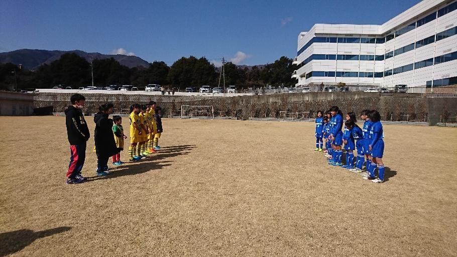 トレーニングマッチ vs 佐久インテンザ
