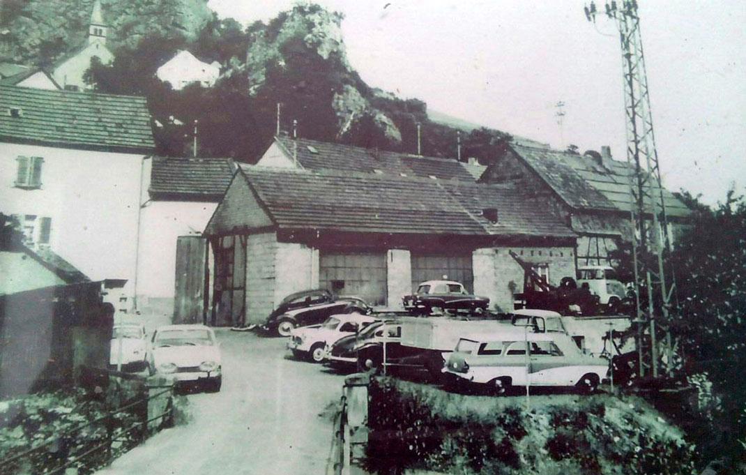 Früherer Standort in Kirn-Kallenfels zur Zeit der Gründung im Jahr 1951 durch Karl Muser
