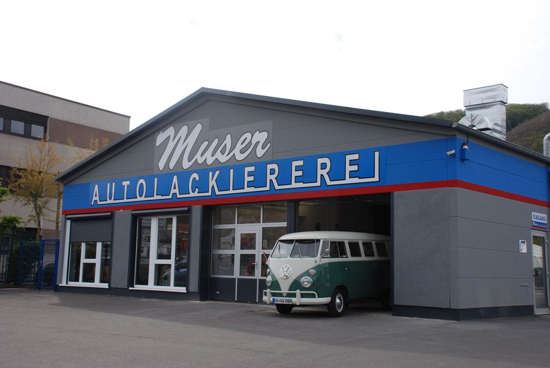Unsere neue Halle im Kirner Gewerbegebiet In Allweiden 4a an der B41 - Foto: Magdalena Bomba, Wochenspiegel