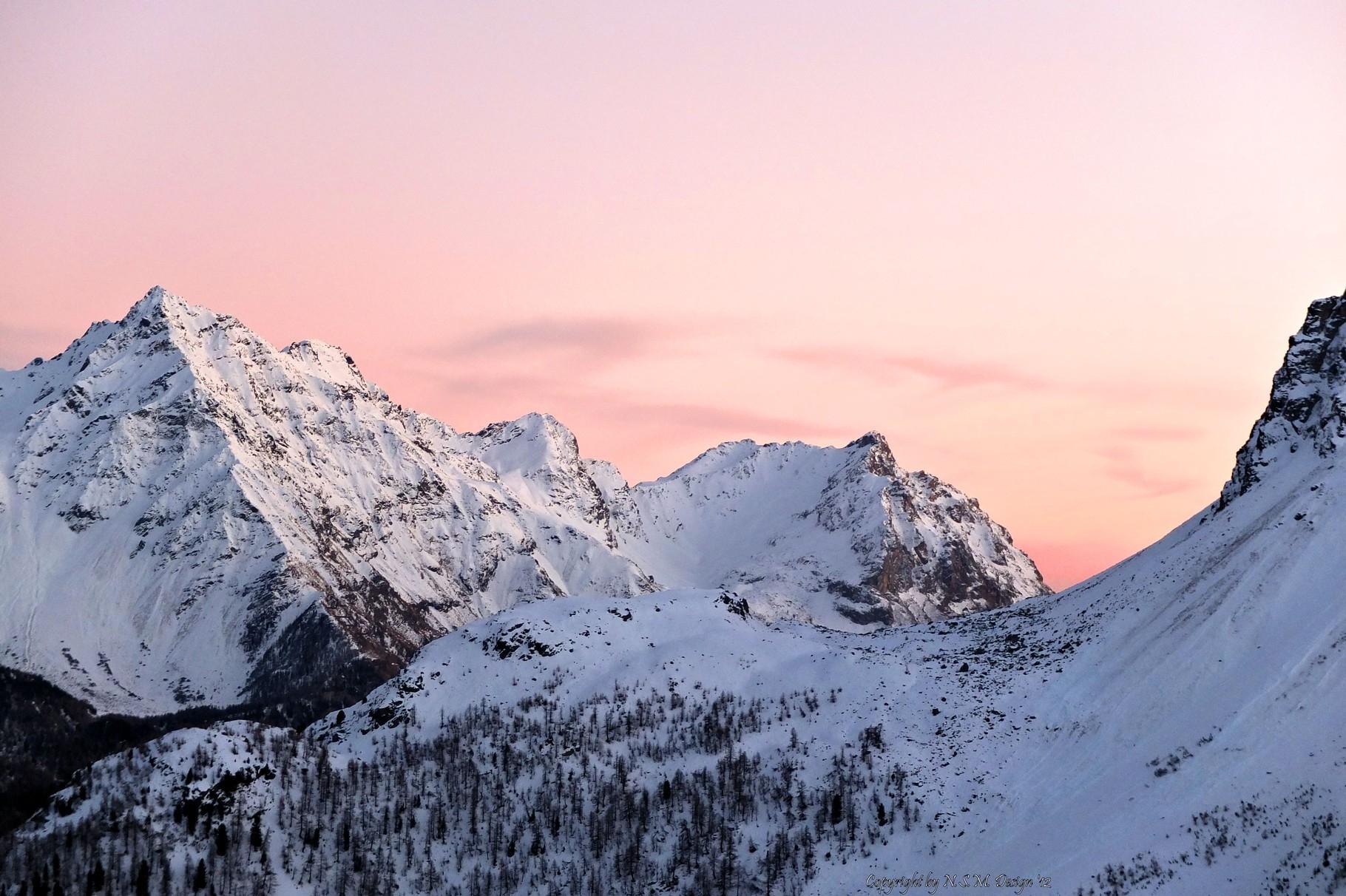 View of Berninapass