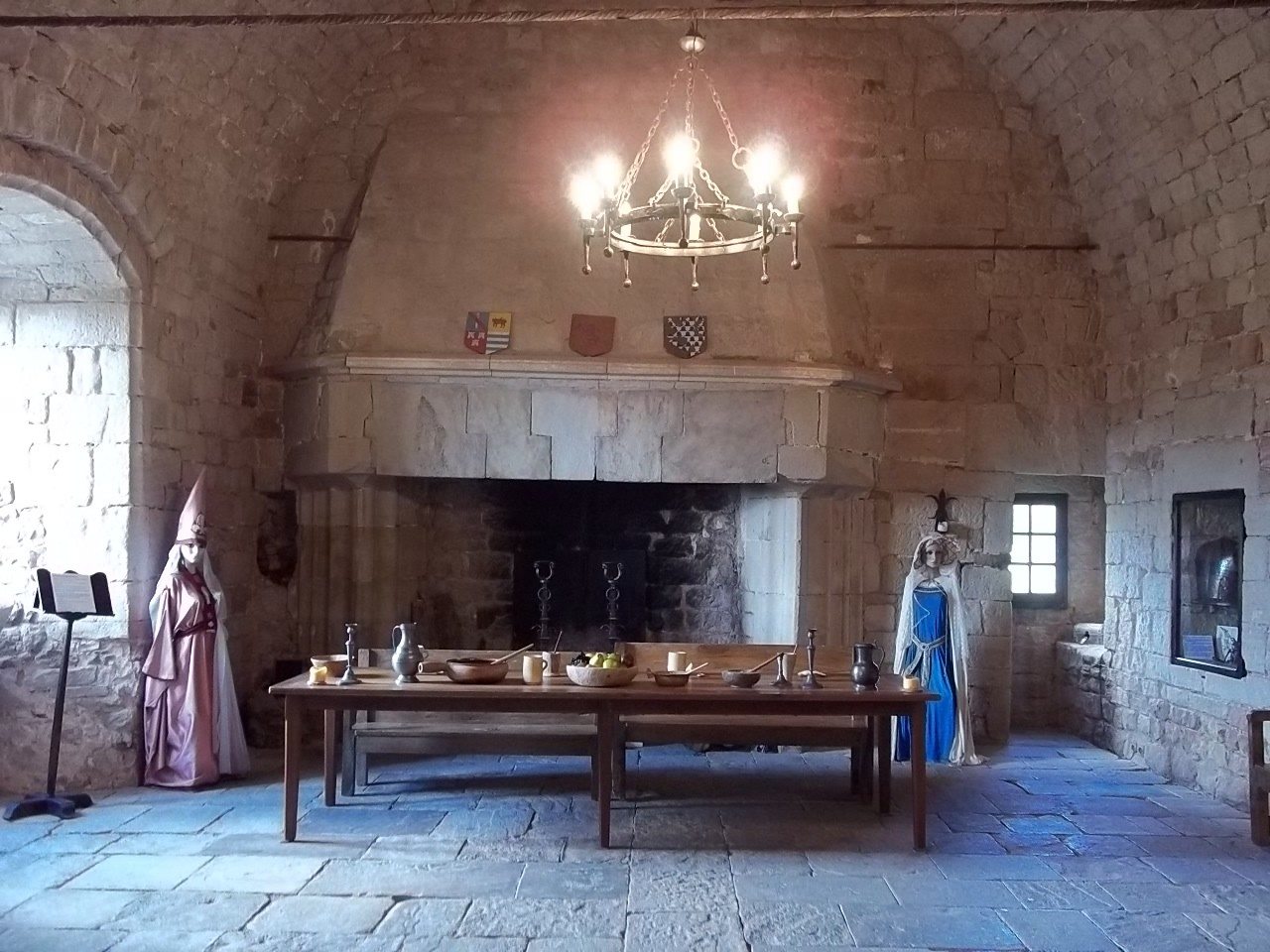 Der Große Saal des Burgherren