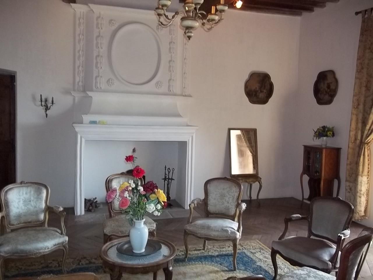 Der stuckverzierte Raum aus dem 17. Jahrhundert