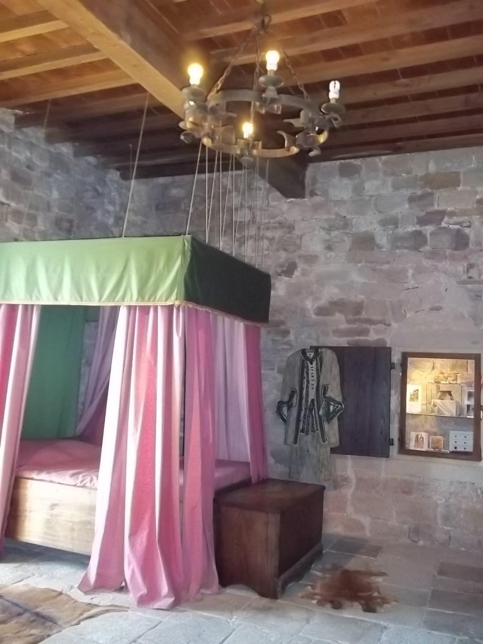 Der Schlafsaal des Burgherren