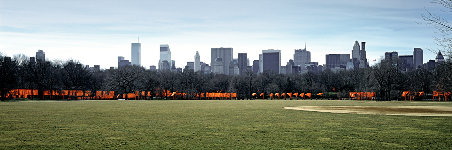 Christo and Jeanne-Claude, The Gates, Central Park, New York City, 1979-2005