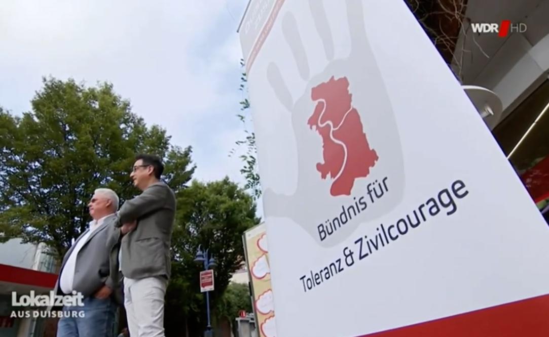 Bündnisaktion zur Bundestagswahl in WDR Lokalzeit