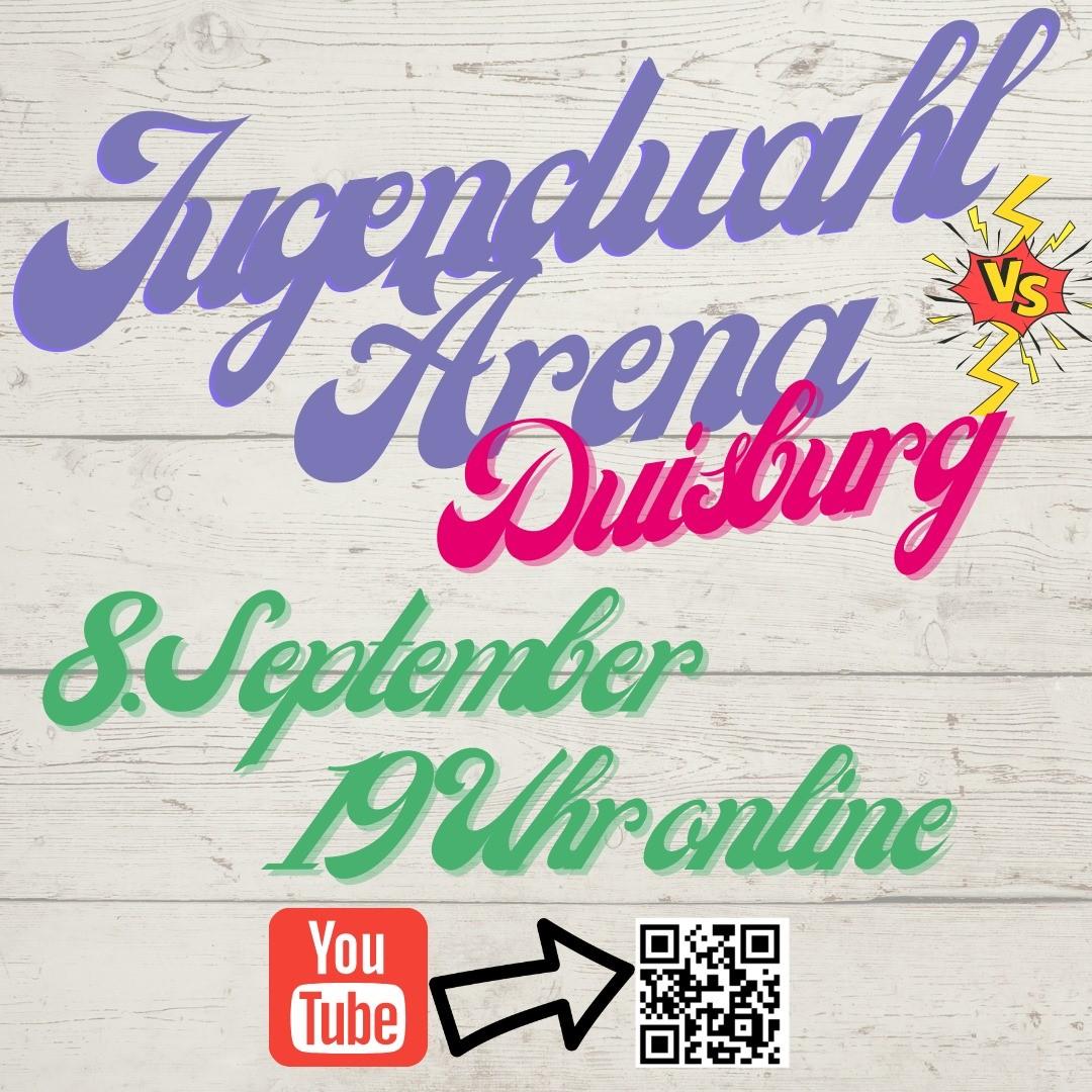 Jugendwahl-Arena am 8. September