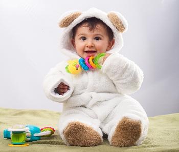 (赤ちゃんの事を第一に考えて部屋作りを)