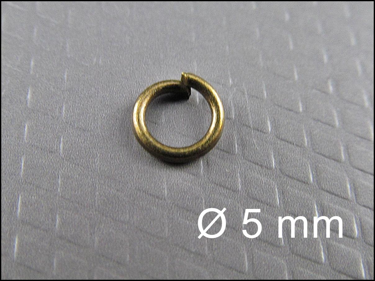 3 mm bis 9 mm open jump rings Federring Verbinder # 25 Biegeringe 2 Farben