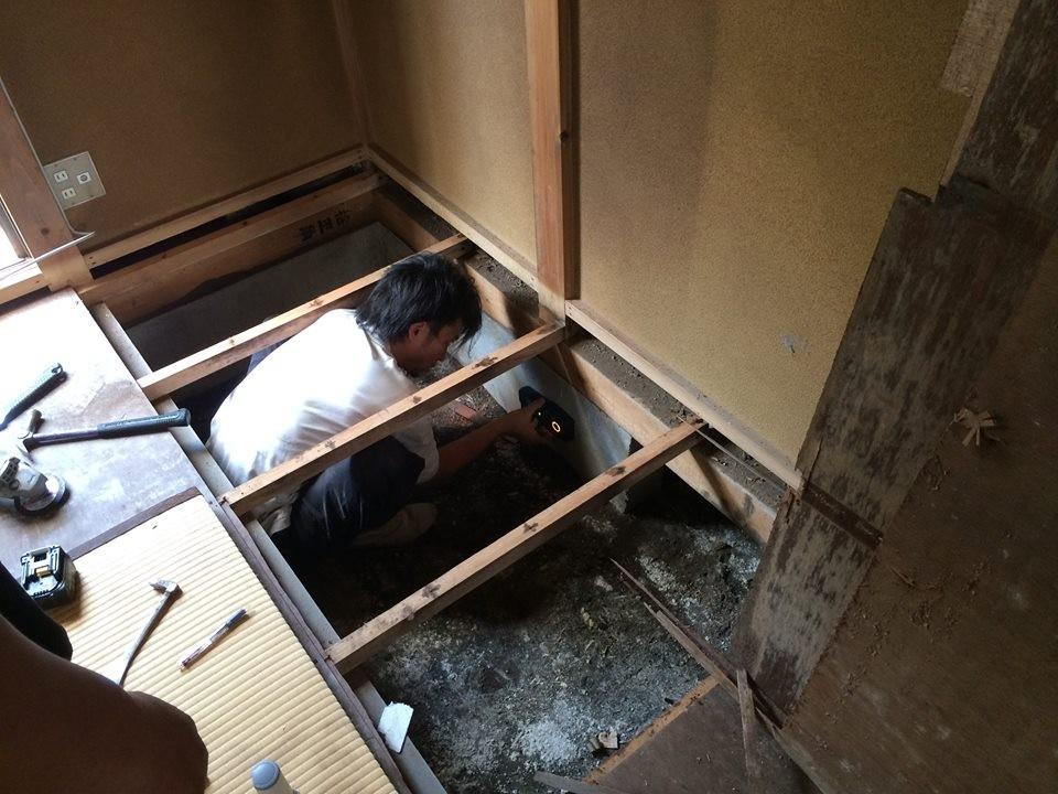 リノベーションには現況検査が大事です。耐震・漏水・設備動作など自社検査員が厳しくチェックします。