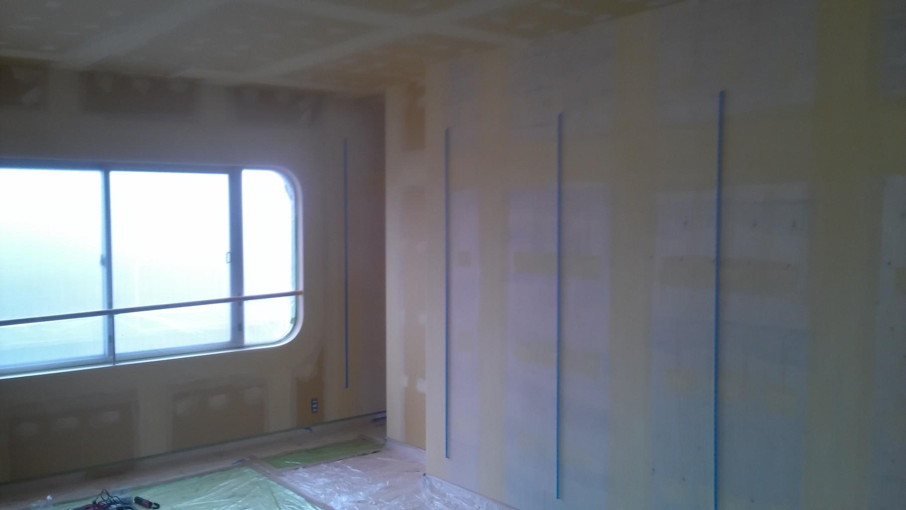 アパート空き室を、子供部屋へ大改造。