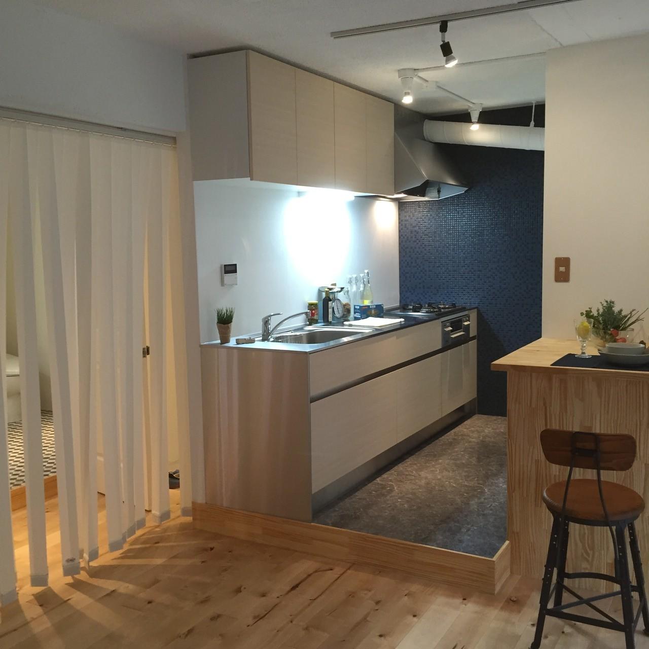 築39年。川崎市住宅供給公社の団地をリノベーション。