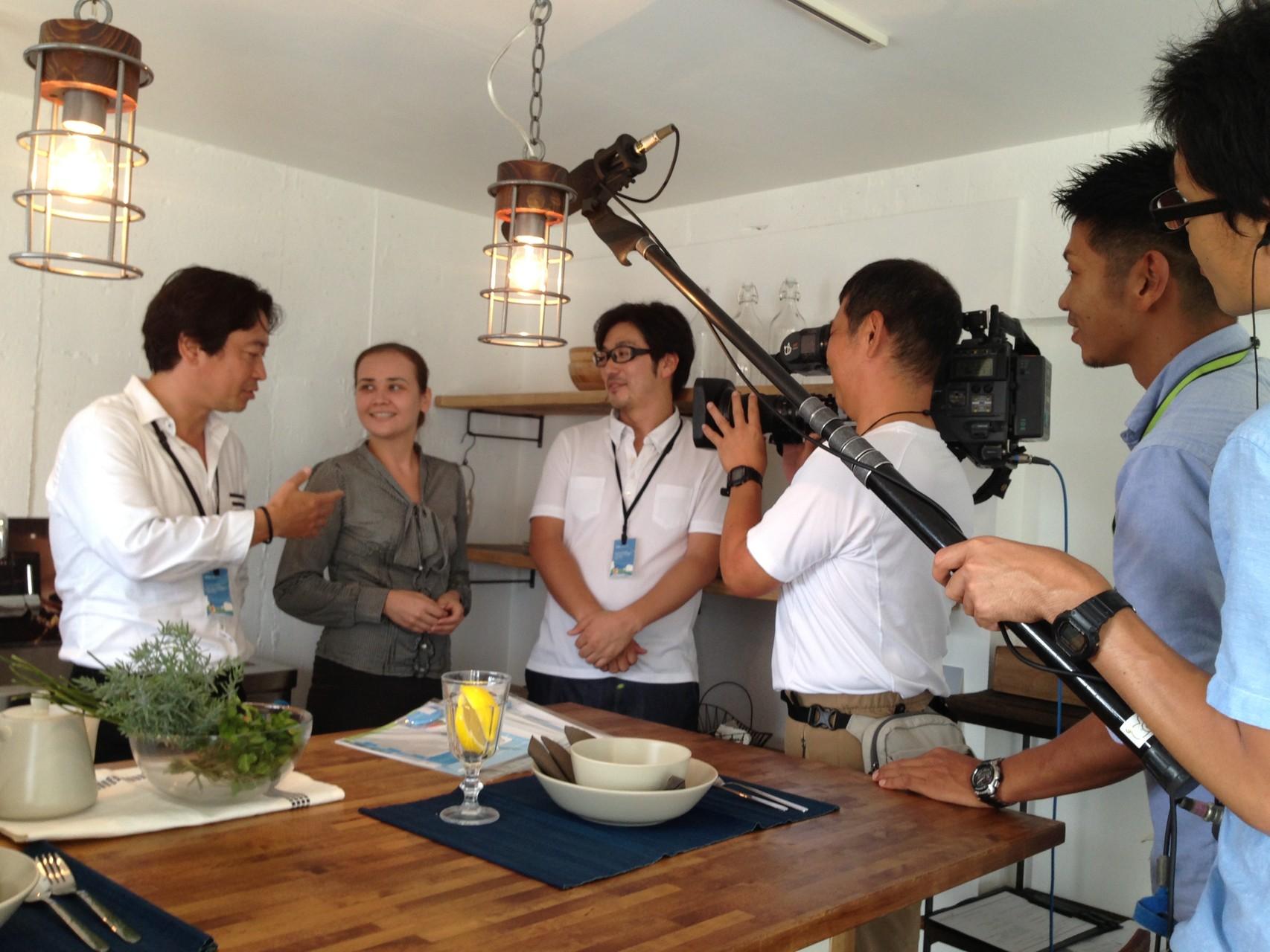 団地モデルルームはテレビ・新聞ほか、多くのメディアにとりあげていただきました。