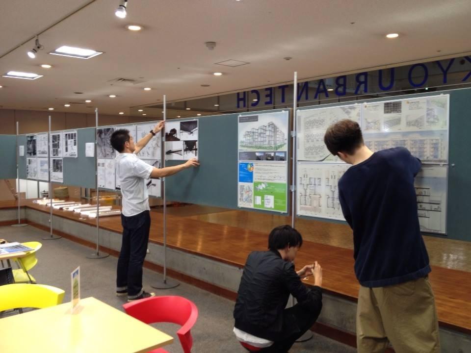 毎年恒例の団地再生卒業設計展。学生の自由な発想に、私たちも刺激を受けています。