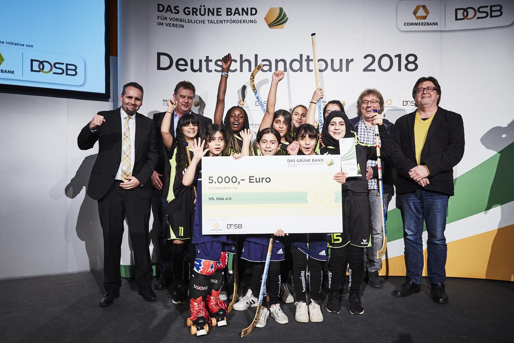 """Wir haben den Preis! (© """"Das Grüne Band"""")"""