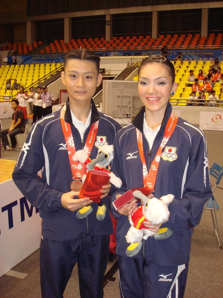 2007年 ASIAN INDOOR GAMES 銅メダル獲得