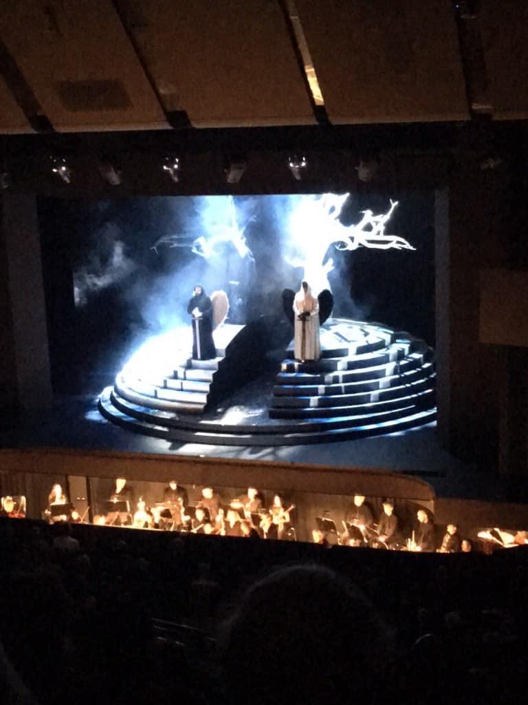 2019 / 1. Geharnischter Mann and zweiter Priester / Die Zauberflöte by W.A Mozart / Theater Heidelberg