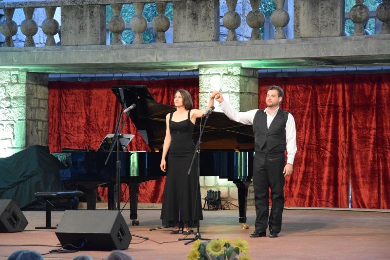 Opening concert of the sumerfestival Grajski večeri 2018 in Ribnica Slovenia