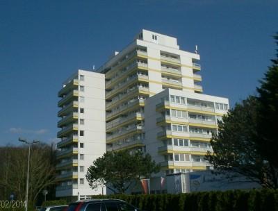 Blick aufs Hotel vom Parkplatz