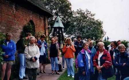 2001 - Wattwanderung zur Hallig Hooge