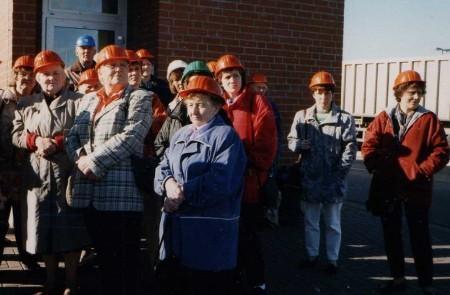 1997 - Besichtigung der Zuckerfabrik in Schleswig