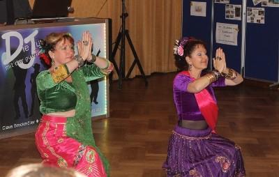 Die Orientalische Tanzgruppe der VHS Husum