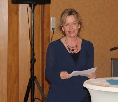 Barbara Thomsen vom Landfrauenverein Ostenfeld