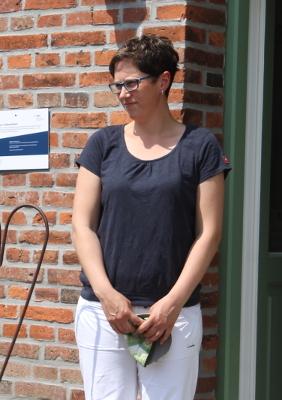 ... und Mitarbeiterin Nadine Kock