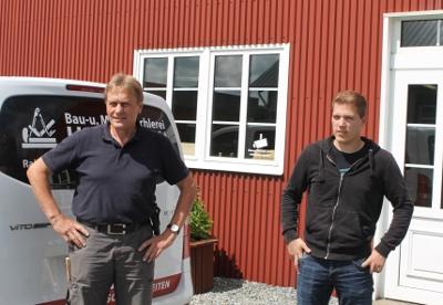 Heino Behrend und Kim Hansen