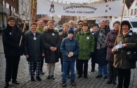 2004 - Sternlauf zum Husumer Marktplatz