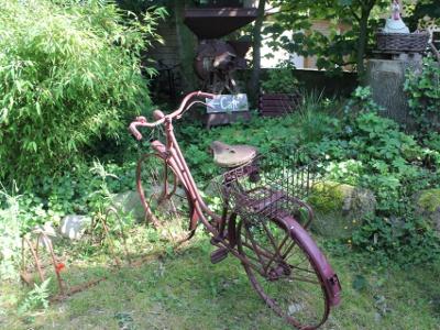 Das Fahrrad stand schon dort ...