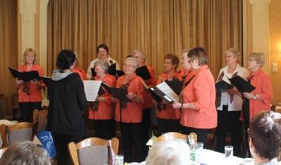 Lieder zum Frühjahr vom Chor