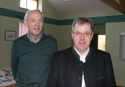 Erwin Clausen (links) und Thomas Kühl