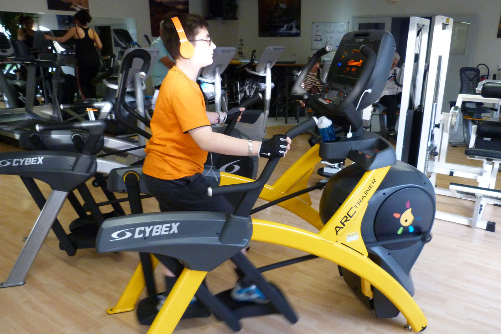 Salle de sport Bergerac Arc Trainer Lower Body 770A Cybex 2