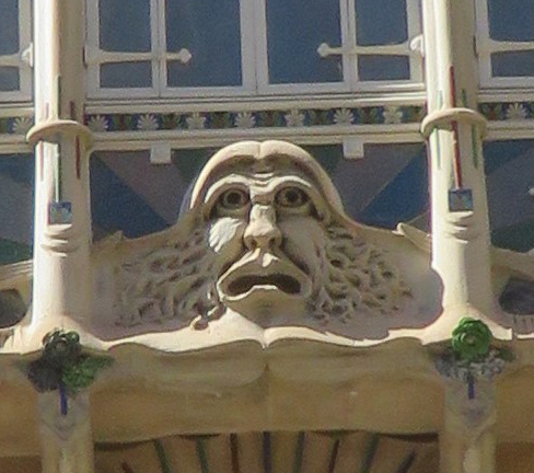 Cornelia Hanoldt war in Palma, Mallorca: »Die Insel hat viele Gesichter. Eines davon befindet sich am Plaça del Marquès del Palmer.«