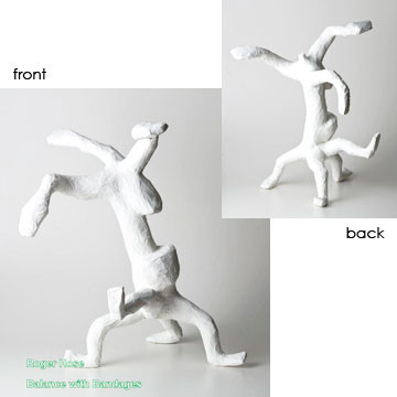 "Artist: Roger Hose | ""Balance with Bandages"" 