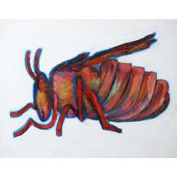"Artist: Roger Hose | ""Feeling Comfortable Bumblebee ette"" 