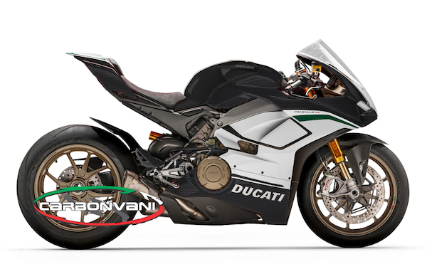 carbonvani carbon fairing for ducati panigale v4