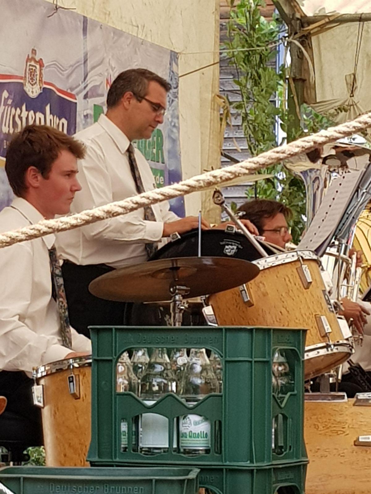 Unsere Schlagzeuger