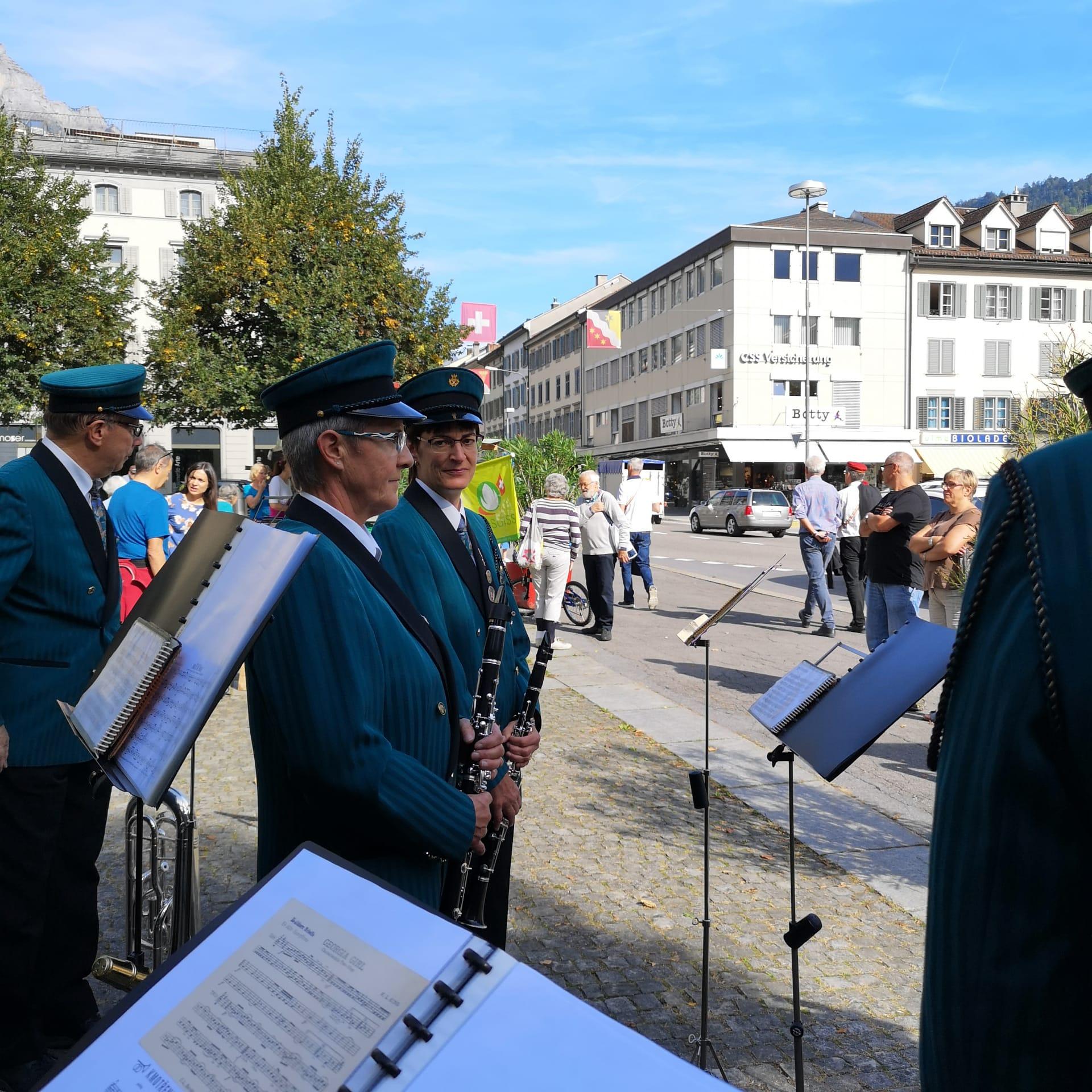 Auch in Glarus herrschte prächtiges Herbstwetter