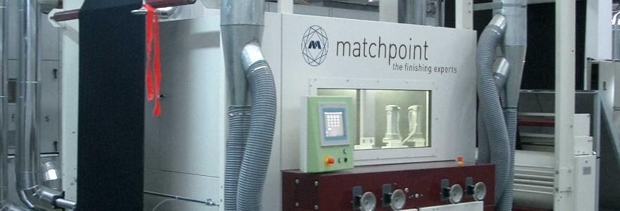 matchpoint's diamondTec - zımparalanması makinesi