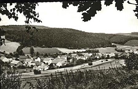 Ellingshausen in den 1950er Jahren