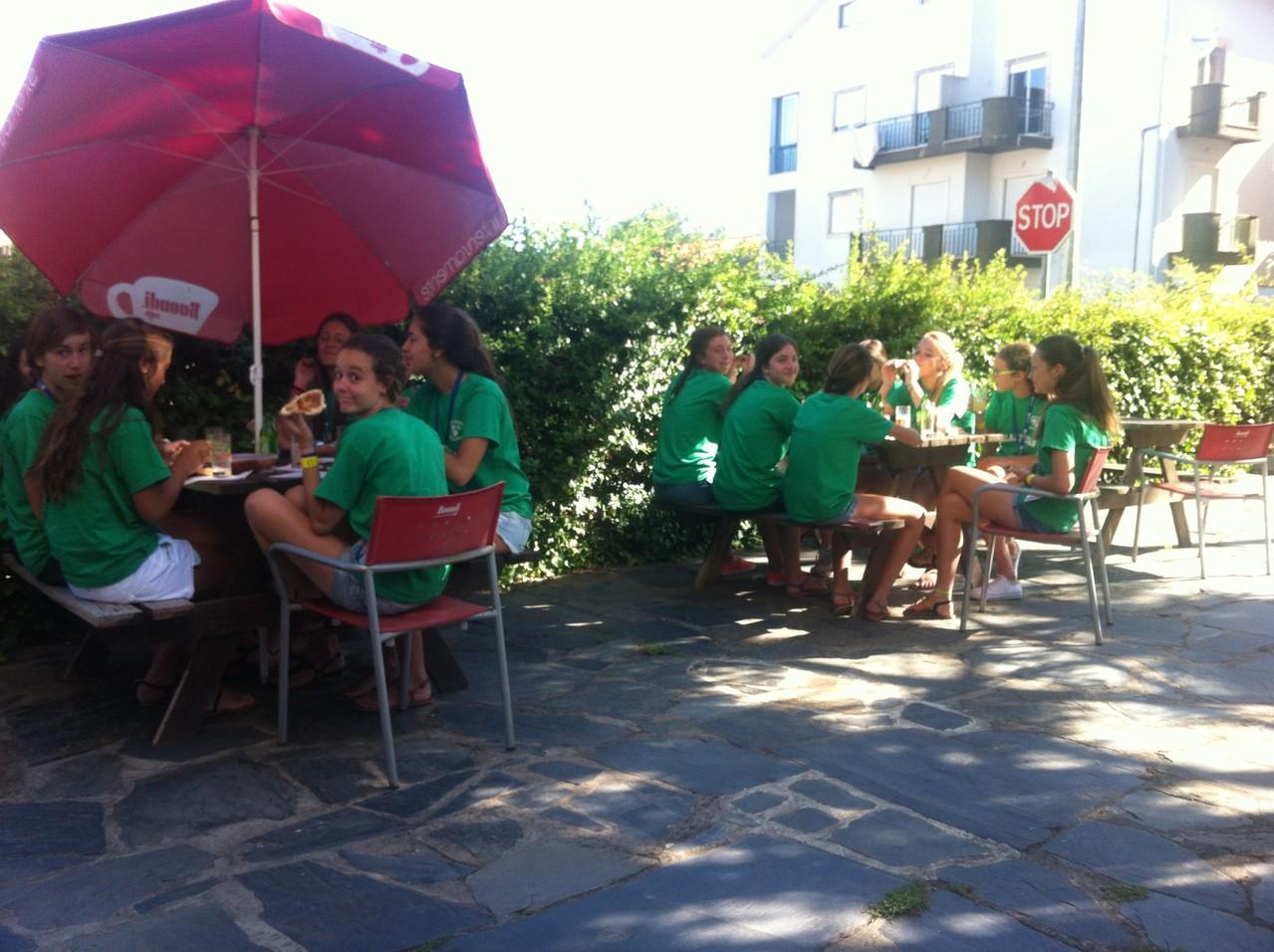 Primer desayuno en Portugal