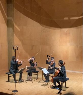 Le Quatuor Joyce depuis la Salle Cortot chez vous mardi 23 février  19 h