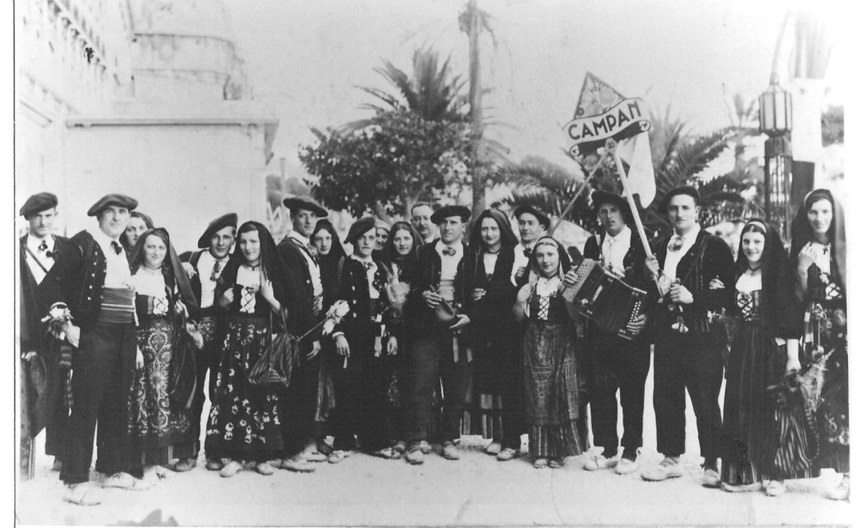 Les Pastourelles en 1930