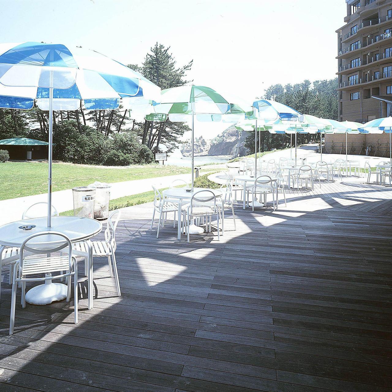茨城県立国民宿舎 鵜の岬(ジャラ) 人気の国民宿舎にも使用されています