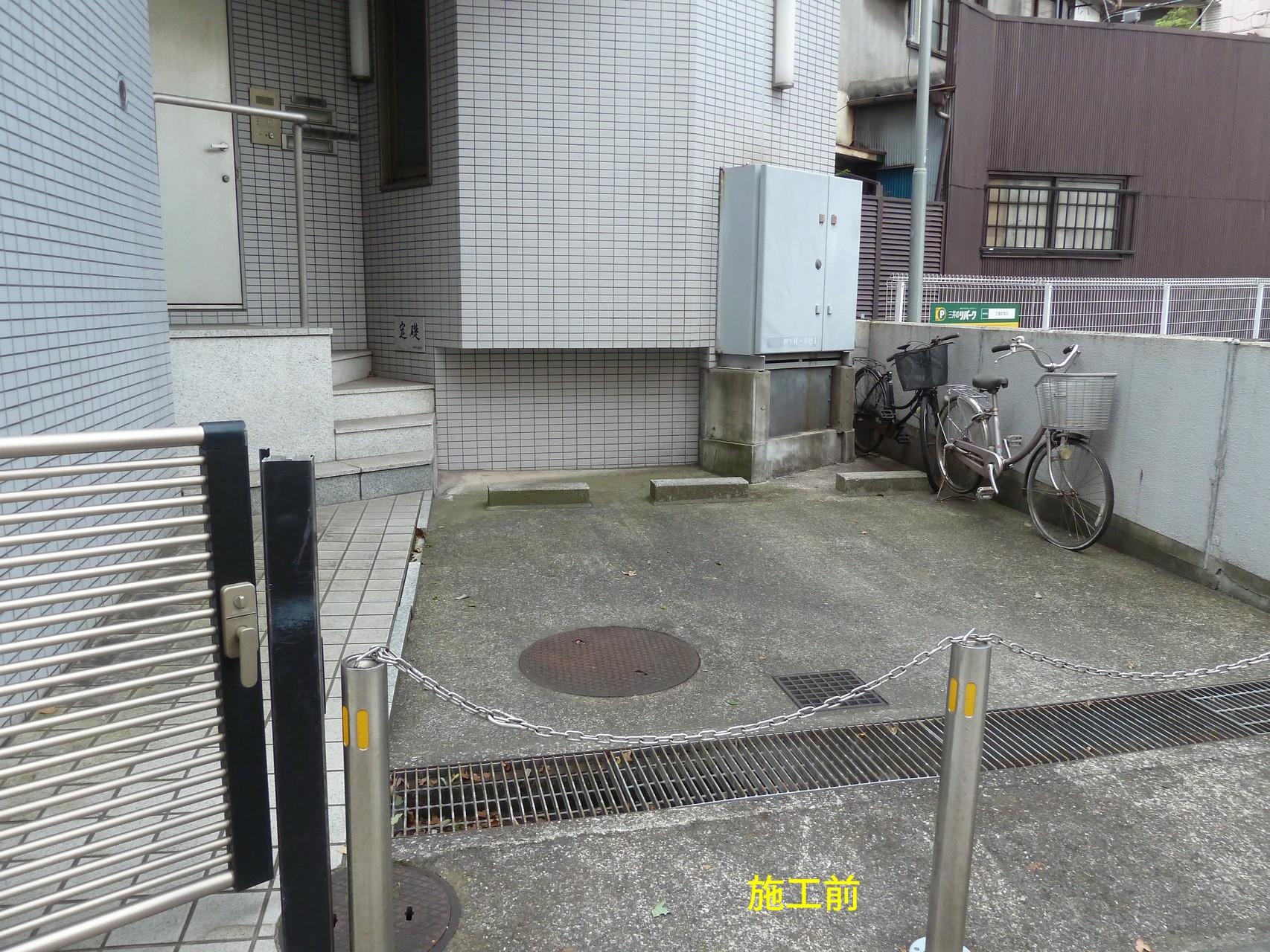 オフィスビル駐車場(改修前)
