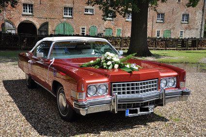 Hochzeitsauto Cabrio Hochzeit