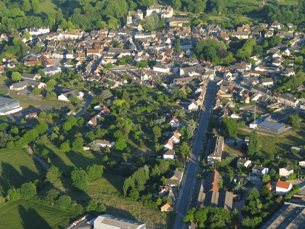 Vue de la Ville de Lignières