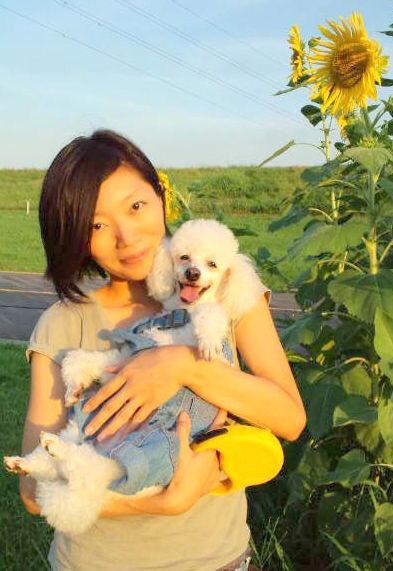 愛しの愛犬と♡