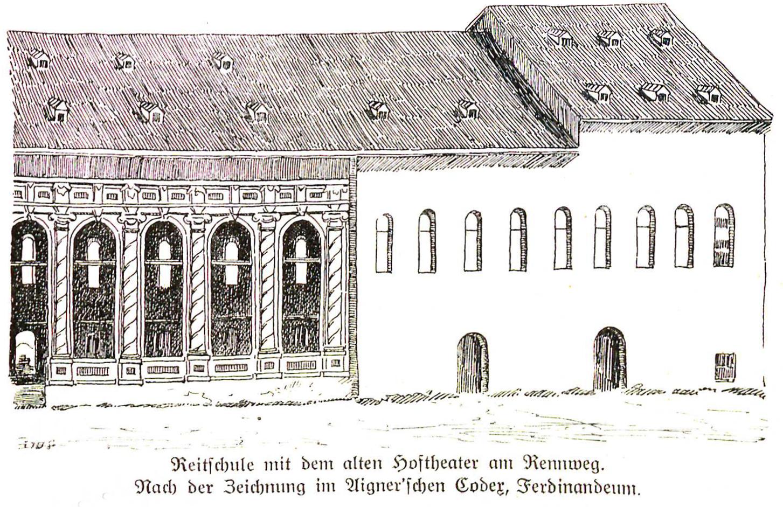 Reitschule Hoftheater 1626